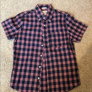 Abercrombie & Fitch short sleeved button down